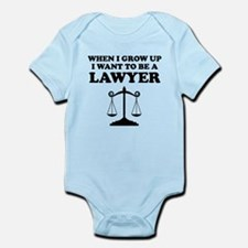 I Want To Be A Lawyer Body Suit