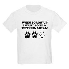 I Want To Be A Veterinarian T-Shirt