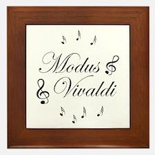 Cute Vivaldi Framed Tile