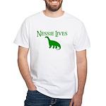 NESSIE UNDERWATER ALLY SHIRT White T-Shirt