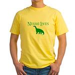 NESSIE UNDERWATER ALLY SHIRT  Yellow T-Shirt