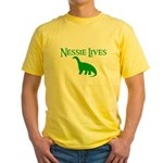 NESSIE UNDERWATER ALLY SHIRT  Yellow T-Shirt