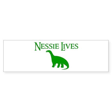 NESSIE UNDERWATER ALLY SHIRT Bumper Sticker