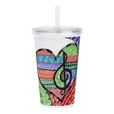 Unique Song Acrylic Double-wall Tumbler