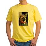 Madonna & Tri Cavalier Yellow T-Shirt