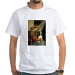 Madonna & Tri Cavalier White T-Shirt