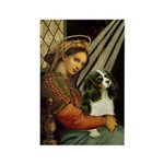 Madonna & Tri Cavalier Rectangle Magnet