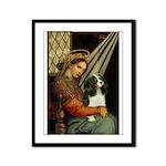 Madonna & Tri Cavalier Framed Panel Print