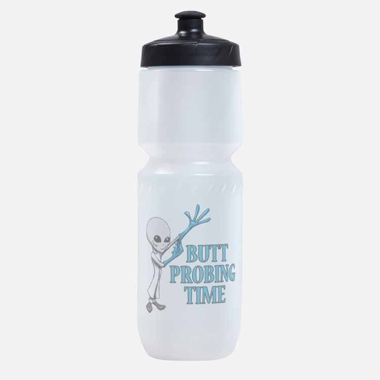 BUTT PROBING TIME Sports Bottle