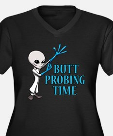 BUTT PROBING TIME Plus Size T-Shirt