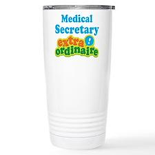 Cute Medical job secretary Travel Mug