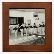 Girls Swim Team, 1930 Framed Tile