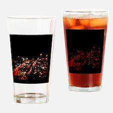 Atlanta Before The Rain Drinking Glass