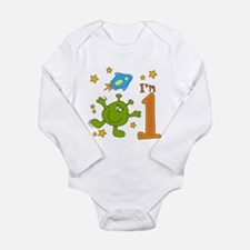 Lil Alien First Birthday Infant Bodysuit Body Suit