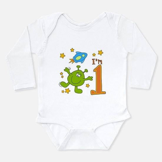Lil Alien First Birthday Infant Bodysuit Body Suit