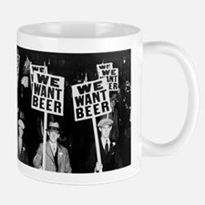 We Want Beer! Prohibition Protest, 1931 Mugs