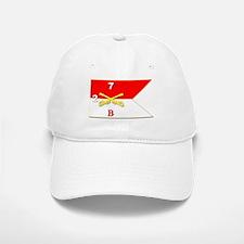 Guidon - B Troop - 2nd Squadron - 7th Cavalry Baseball Baseball Cap