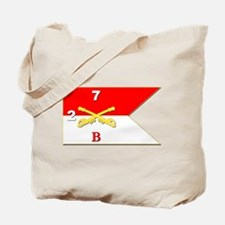 Guidon - B Troop - 2nd Squadron - 7th Cav Tote Bag