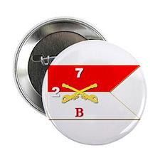 "Guidon - B Troop - 2nd Squadron - 7th 2.25"" B"