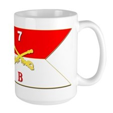 Guidon - B Troop - 2nd Squadron - 7th C Mug