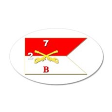 Guidon - B Troop - 2nd Squad Wall Decal