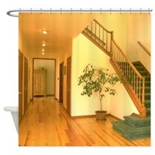 Hallway & Stairs Shower Curtain