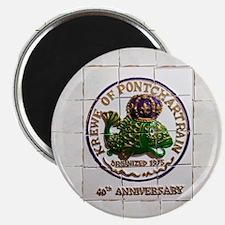 40th Anniversary Krewe of Ponchartrain Magnets