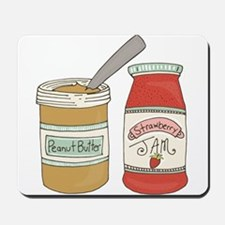 Peanut Butter And Jam Mousepad