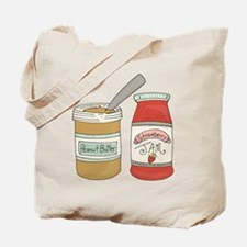 Peanut Butter And Jam Tote Bag