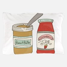 Peanut Butter And Jam Pillow Case
