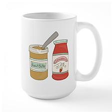 Peanut Butter And Jam Mugs