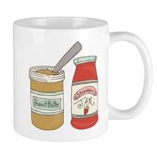 Peanut Butter And Jam Mugs