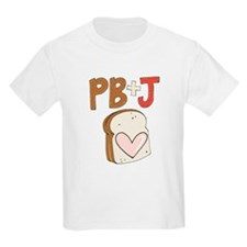 PB and J Sandwich Heart T-Shirt