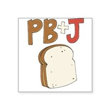 PB and J Sandwich Sticker
