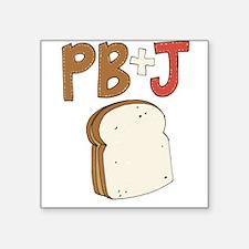 PB and J Sandwich Sticker