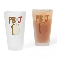 PB and J Sandwich Drinking Glass