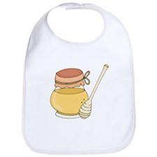 Honey Jar And Dipper Bib