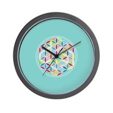 Cute Sacred symbols Wall Clock