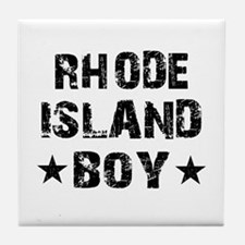 Rhode Island Boy Tile Coaster