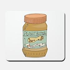 Jar Of Peanut Butter Mousepad