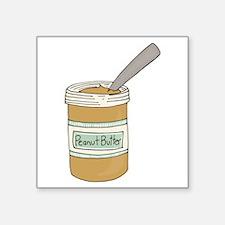Peanut Butter Jar Sticker