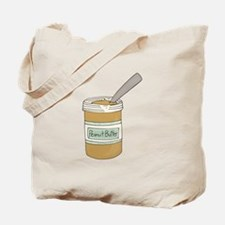 Peanut Butter Jar Tote Bag