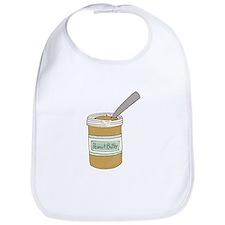 Peanut Butter Jar Bib