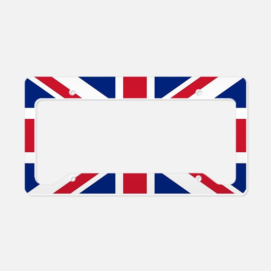 UK Flag License Plate Holder