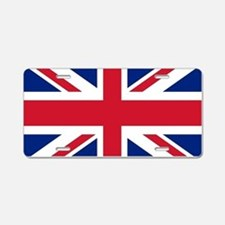 UK Flag Aluminum License Plate