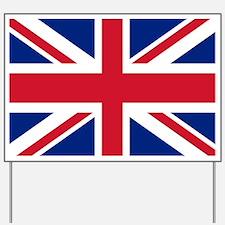 UK Flag Yard Sign
