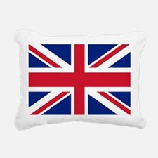UK Flag Rectangular Canvas Pillow