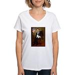 Lincoln & Tri Cavalier Women's V-Neck T-Shirt