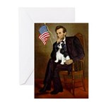 Lincoln & Tri Cavalier Greeting Cards (Pk of 10)