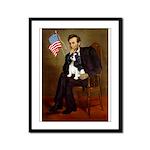 Lincoln & Tri Cavalier Framed Panel Print